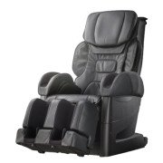 Osaki Japan 4D Premium Massage Chair - Black  - Front Angle View