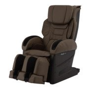 Osaki Japan 4D Premium Massage Chair - Brown  - Front Angle View