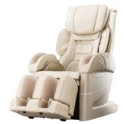 Osaki Japan 4D Premium Massage Chair - Beige - Front Angle View