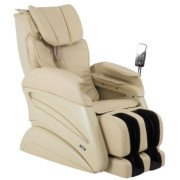 Osaki TW- Chiro Massage Chair - Beige - Front Angle View