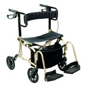 Ultra Ride Rollator & Transport Chair