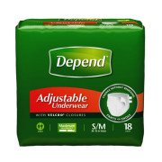 Depend Adjustable