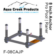 """Anchor Kit, Pavers, 4-point w/jig & 8"""" inserts"""