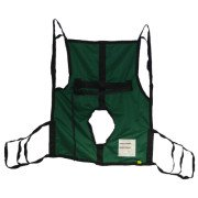 Hoyer Full Body Polyester Fabric Sling w/ Commode