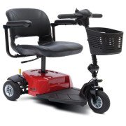 Mega Motion Rascal 8 - 3 Wheel Mobility Scooter - Red