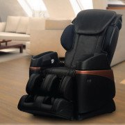 Osaki OS-3700 Full Body and Buttocks Massage Chair -  Black - Front