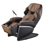 Osaki Japan 4S Premium Massage Chair - Brown  - Front Angle View