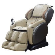 Osaki 4000CS - L Track Massage Chair - Ivory - Front Angle View
