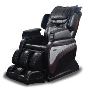 Titan TI-8700 Massage Chair - Black - Front Angle View