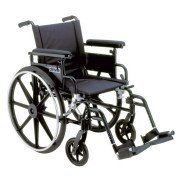 "Viper Plus GT Wheelchair - 16"" Seat - Desk Arms - Elevating Legrests"