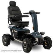 Pride Wrangler 4-Wheel PMV Scooter - Stone Grey - Right