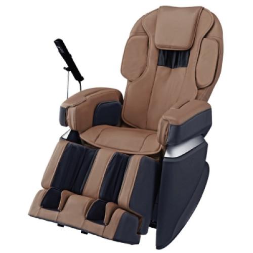 Osaki Japan 4.0 Premium Massage Chair   Brown   Front Angle View