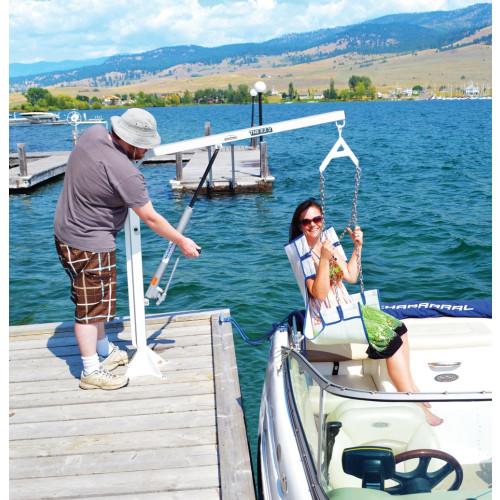 Aqua Creek Ez 2 Manual Pool Lift Boat Access Lift F Ezpl2