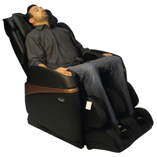 osaki os3700 full body and buttocks massage chair black side