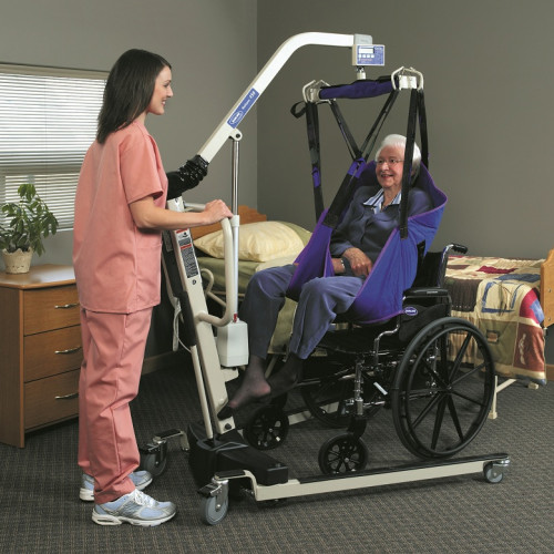 Invacare Reliant Plus 450 Electric Patient Lift With Power