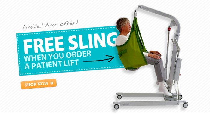 Free Sling with Patient Lift Purchase